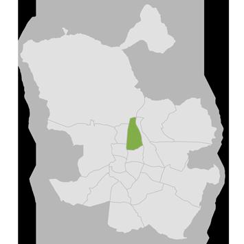 mapa distrito chamartín