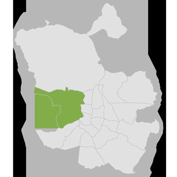 Mapa Moncloa - Aravaca
