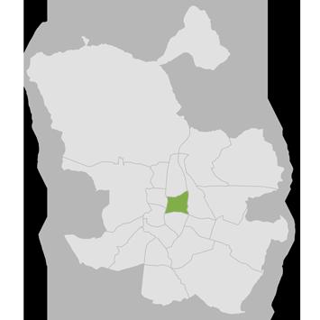 mapa distrito salamanca
