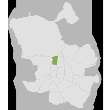 mapa fisioterapia en Tetuán