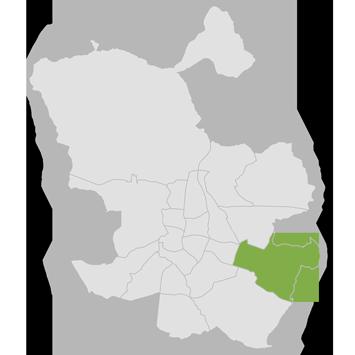 mapa distrito de Vicálvaro