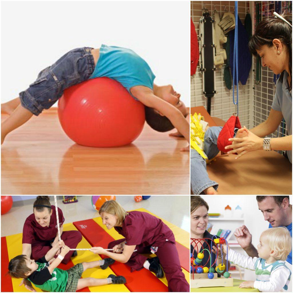 Ejercicios de Fisioterapia para niños