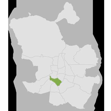 mapa distrito arganzuela de madrid