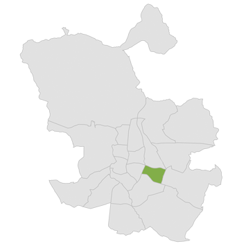 mapa fisioterapia en Moratalaz