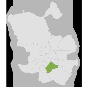 Mapa Puente de Vallecas