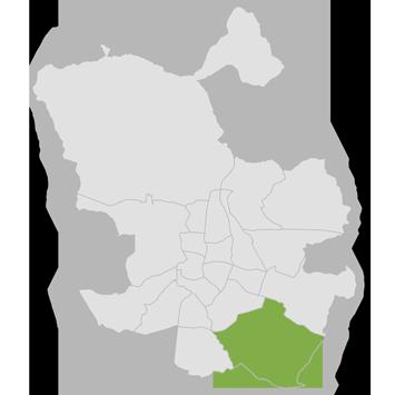 Mapa de fisio en Villa de Vallecas